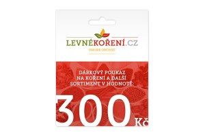 Koření - Dárkový poukaz v hodnotě 300 Kč