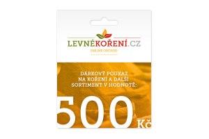 Koření - Dárkový poukaz v hodnotě 500 Kč