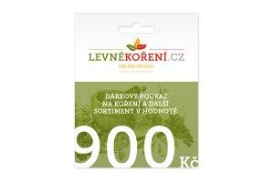 Koření - Dárkový poukaz v hodnotě 900 Kč