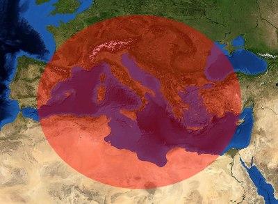 Středomoří - Hlavní oblast pěstování Oregána